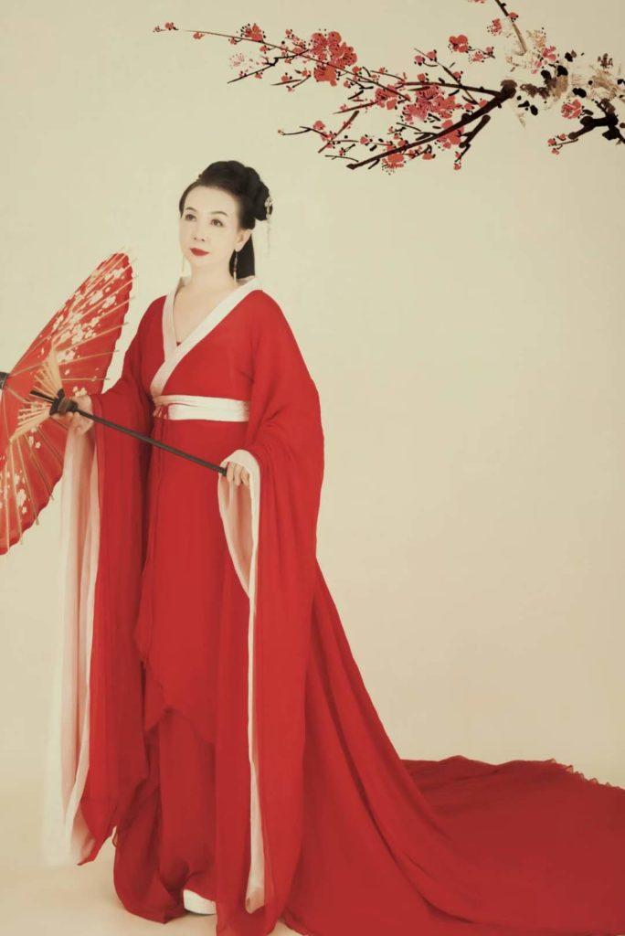Китайская нацциональная одежда...династия Хань