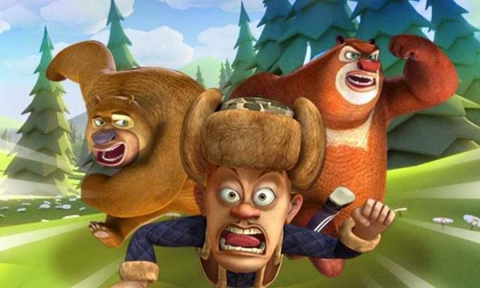 Китайские мультики для детей: Братья медведи