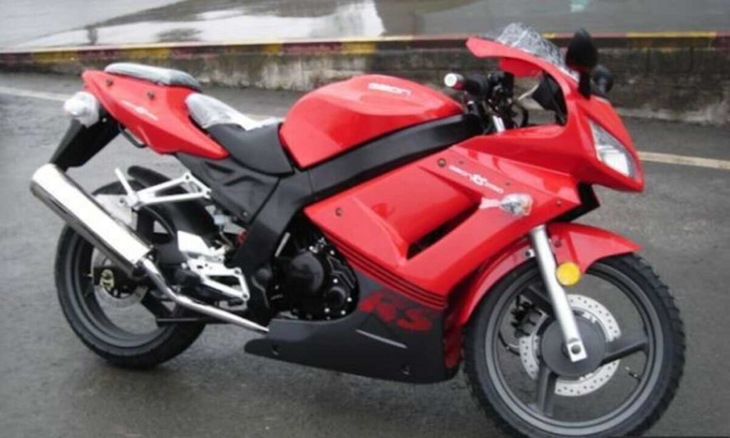 кроссовый мотоцикл