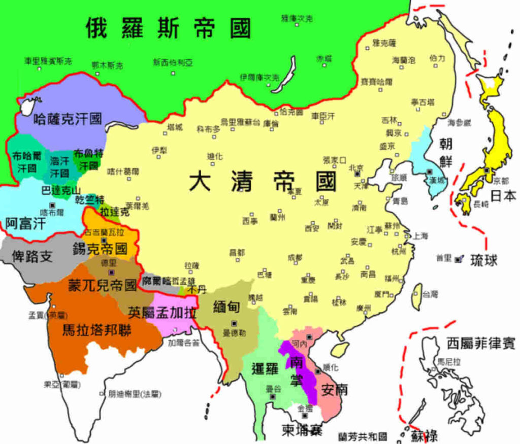 экспансия династия Цин